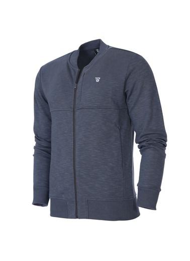 Sportive Spo-Flam Erkek Antrasit Günlük Stil Sweatshirt 711423-Ant Gri